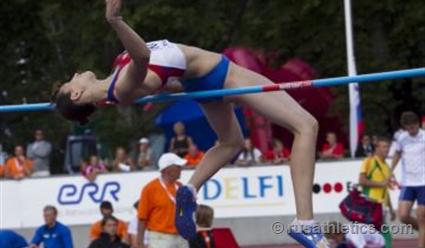 Русская атлетка одолела впрыжках ввысоту вЮджине