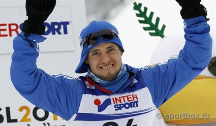 Русский лыжник Илья Черноусов одержал победу вИталии марафон на70 километров