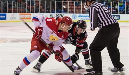 Молодежная сборная проиграла четвертый матч Canada Russia Series