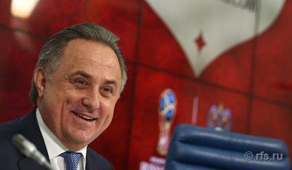 Виталий Мутко: Доконца года сборная сыграет шесть товарищеских матчей