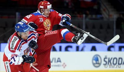 Хоккеисты сборной РФ обыграли чехов 4:2 и преждевременно стали победителями Евротура