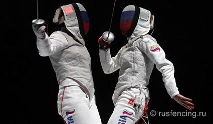 Русские рапиристы выиграли командный турнир наэтапеКМ вТокио