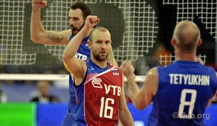 ВолейболистыРФ обыграли иранцев взаключительном матче группового этапа Игр
