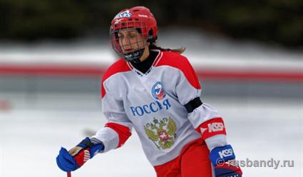 Сборная Российской Федерации вышла вполуфинал женского молодежногоЧМ похоккею
