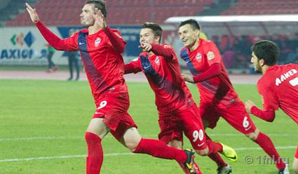 Футболисты «Сибири» вышли вчетвертьфинал Кубка РФ!