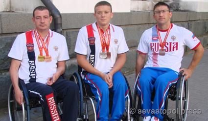 Андрей Граничка установил мировой рекорд насоревнованиях русских паралимпийцев