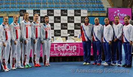 Победа Вихлянцевой вывела РФ вплей-офф Мировой группы Fed Cup