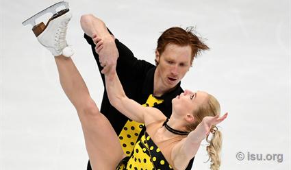 Тарасова иМорозов заняли первое место вкороткой программе намосковском Гран-при