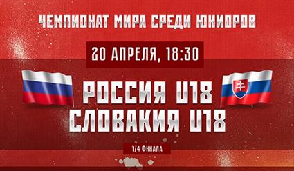 Юношеская сборная РФ похоккею проиграла жителям Америки начемпионате мира вСловакии
