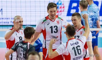 «Белогорье» заняло 3-е место вКубке Российской Федерации поволейболу