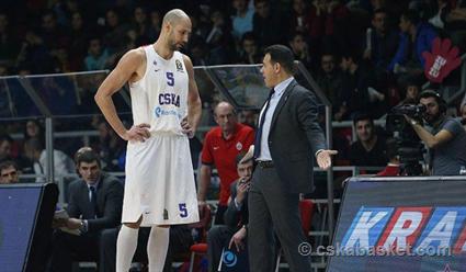 ЦСКА дома уступил'Фенербахче в матче 14-го тура баскетбольной Евролиги