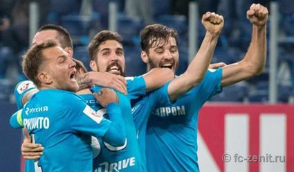 Гол 17-летнего футболиста на 90-й минуте принес'Зениту победу над'Динамо в матче чемпионата России