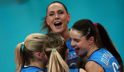Волейболистки московского'Динамо выиграли в гостях второй матч финальной серии чемпионата России